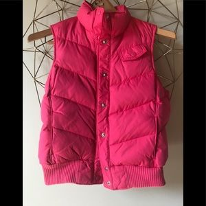 Women's xs hot pink old navy vest